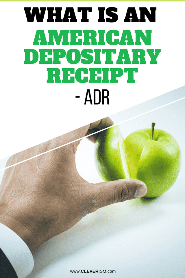 What is an American Depositary Receipt - ADR?