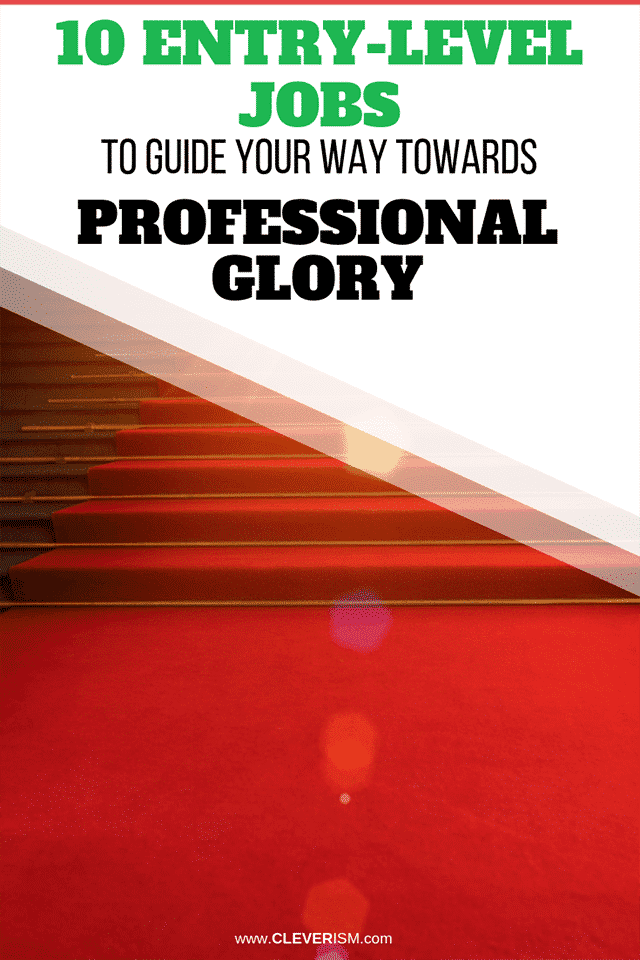 10 Entry-Level Positions to Guide Your Way Towards Professional Glory