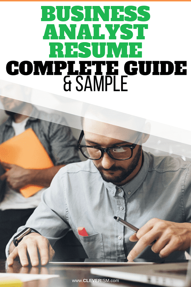 Business Analyst Resume: Sample & Complete Guide