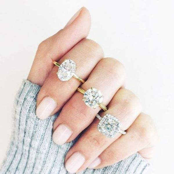 Popular Engagement Ring Trends | Who What Wear