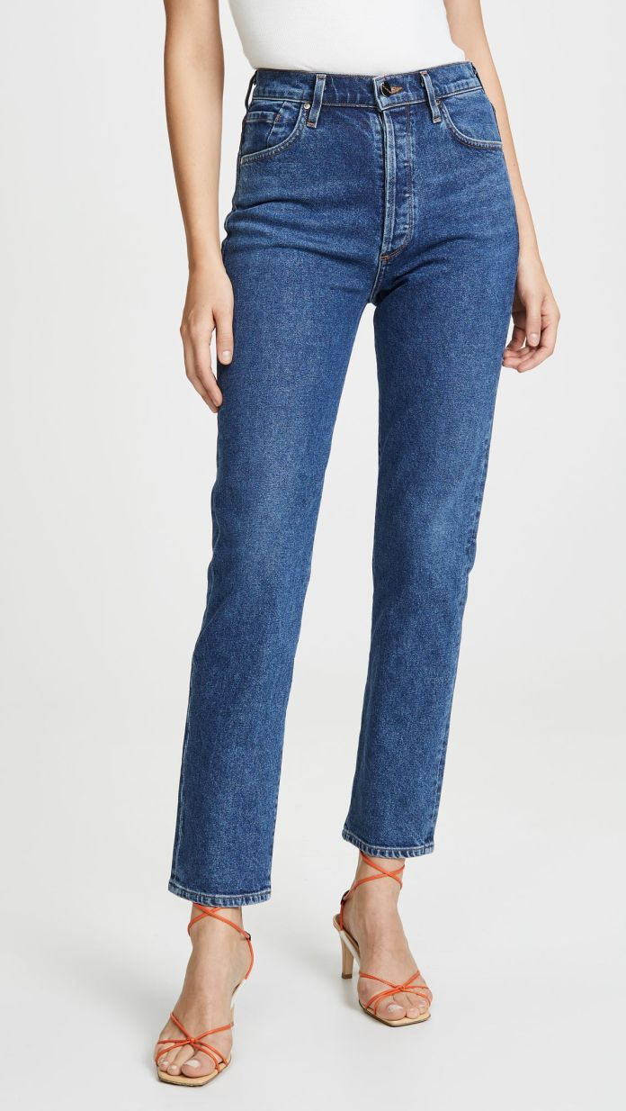 This Trick for a Flawless Jean Fit Is Bizarre, But It Works