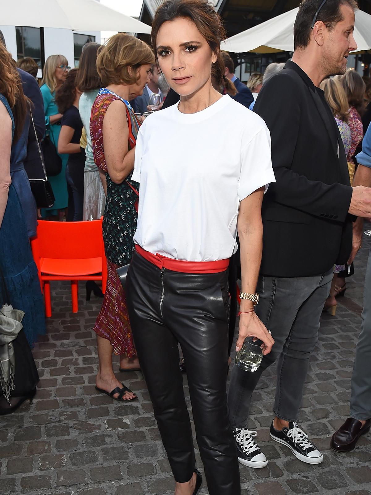White T-shirt  Victoria Beckham  T-shirts