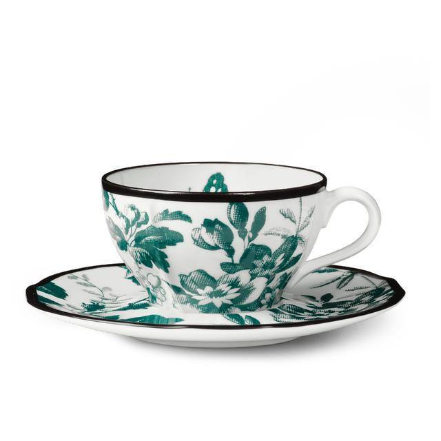 Gucci Herbarium Denitasse Cup and Saucer, Double Set