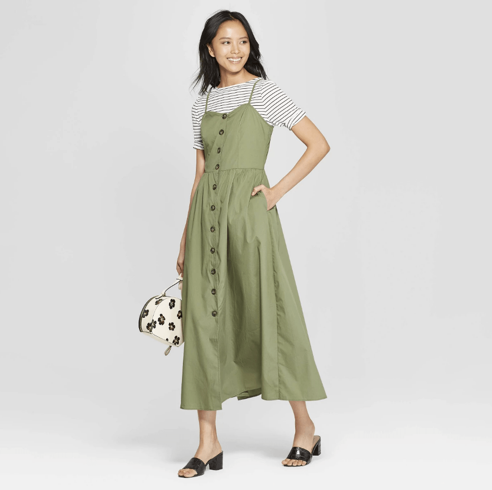 20 Under-$40 Dresses to Wear With Sneakers This Spring