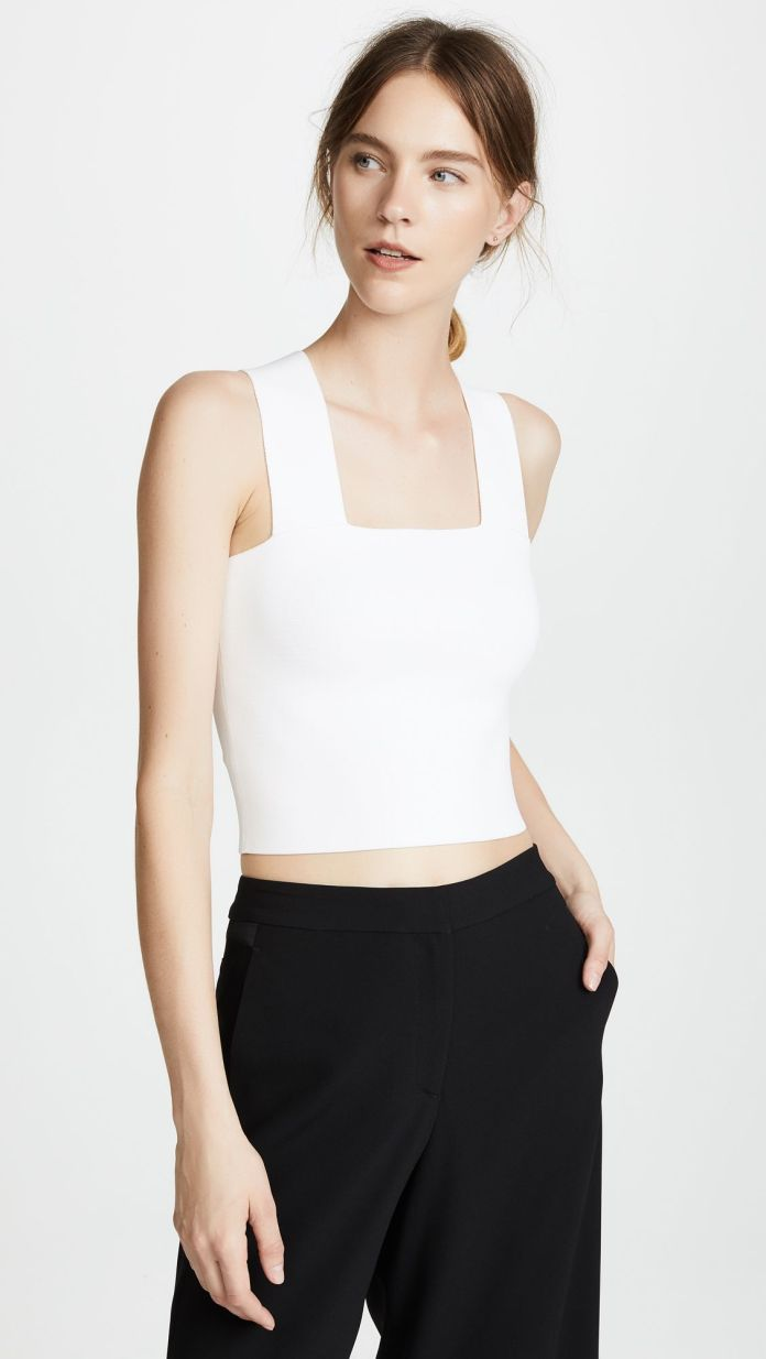 The 19 Best Non-See-Through White Tanks Tops on the Internet
