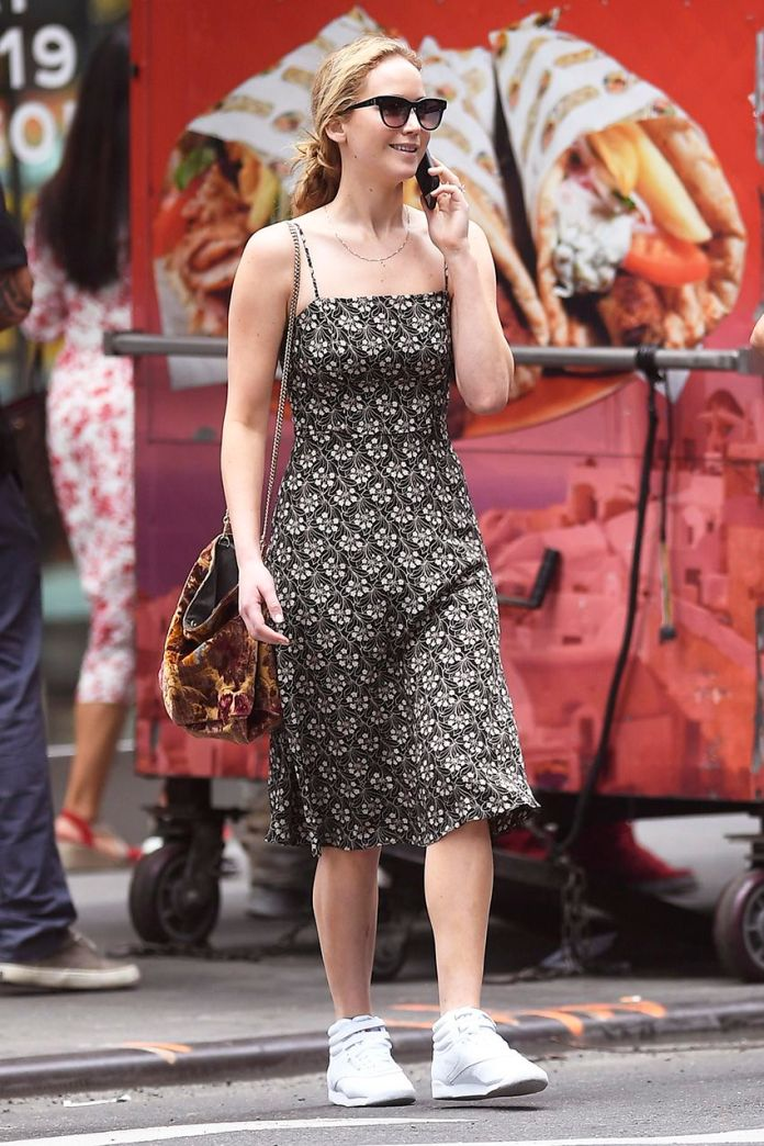 Jennifer Lawrence's Sneakers Are From the '80s But Still Popular on Amazon