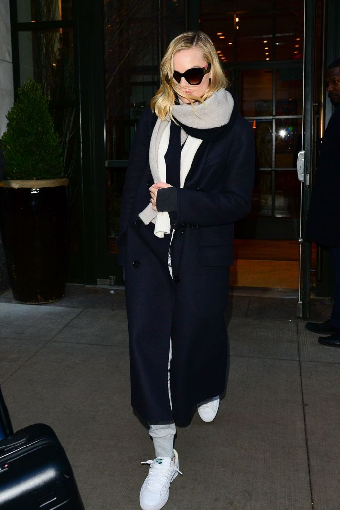 How to Make Leggings and Sneakers Look Polished, A Masterclass by Margot Robbie