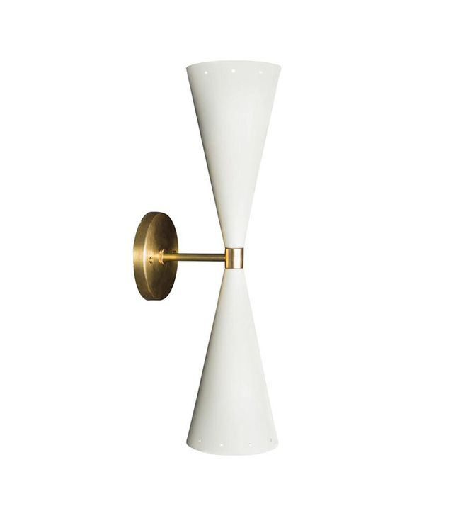 Lawson-Fenning Double Cone Sconce