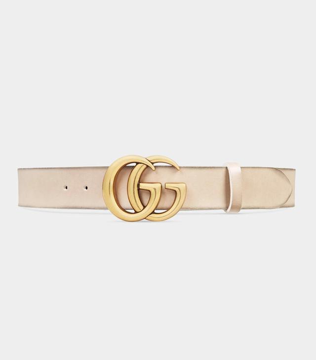 Gucci logo belt:
