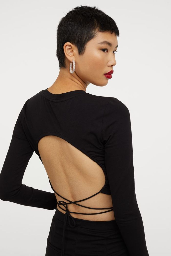 H&M Open-Backed Top