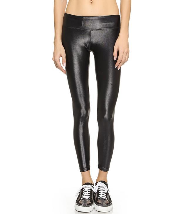 Shiny Metallic Active Legging