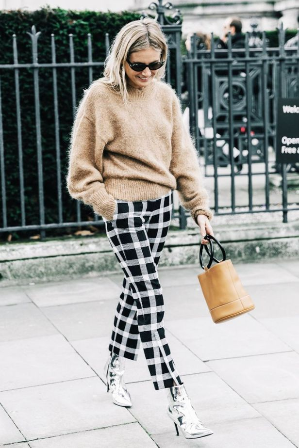 what to wear with cropped pants to avoid cold ankles