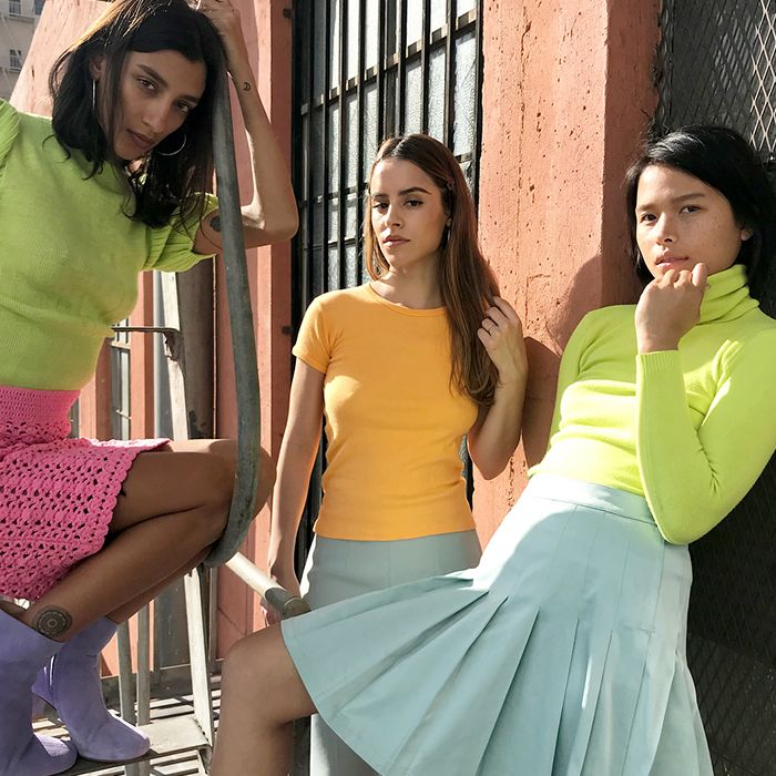 Here's something you maybe weren't expecting to hear: You'll be wearing  neon very soon. Garishly bright hues might have taken the backseat to  minimalist ...