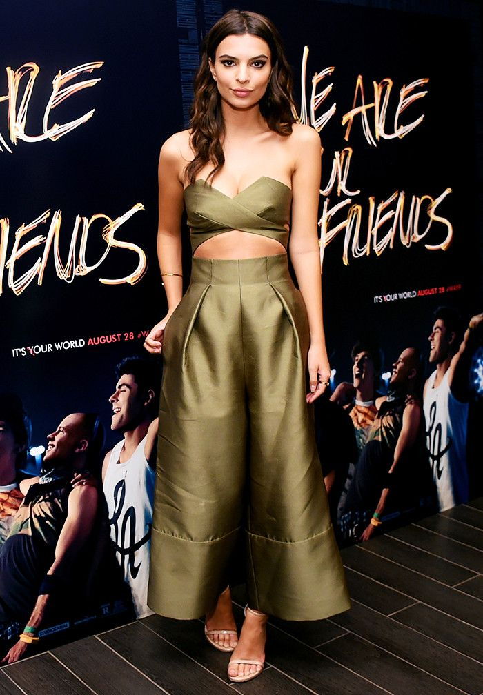 Style Notes: Matching co-ords are a great alternative to dresses, but the  khaki colour and culottes make this much cooler than your average, meaning  she can ...