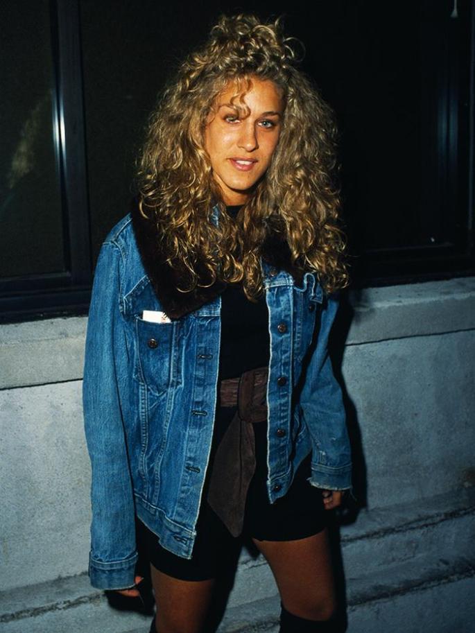 Eighties Fashion Trends: Oversized Denim Jackets