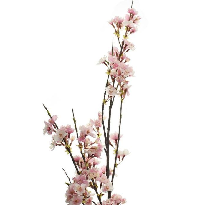 Firefly Imports Artificial Cherry Blossom Branch Spray