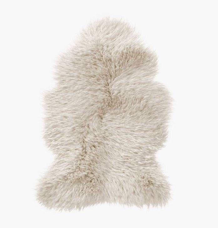 Rove Concepts Sheepskin Natural White Rug
