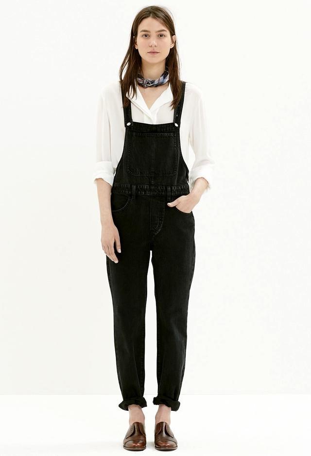7 Ways To Wear Black Overalls WhoWhatWear UK