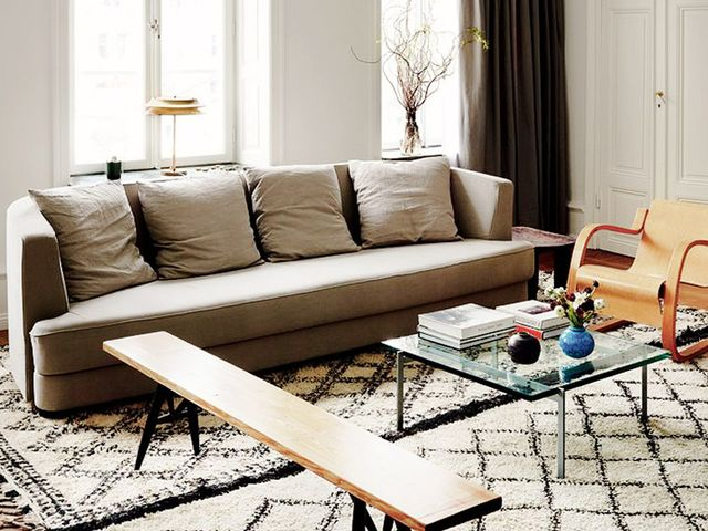 Get The Look: An Elegant Textured Neutral Living Room