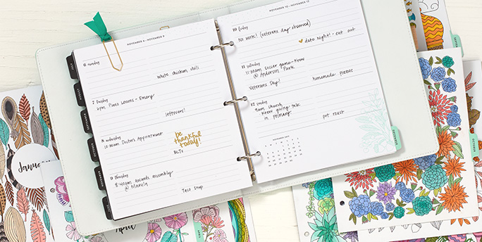 2017 Exclusive Planner System