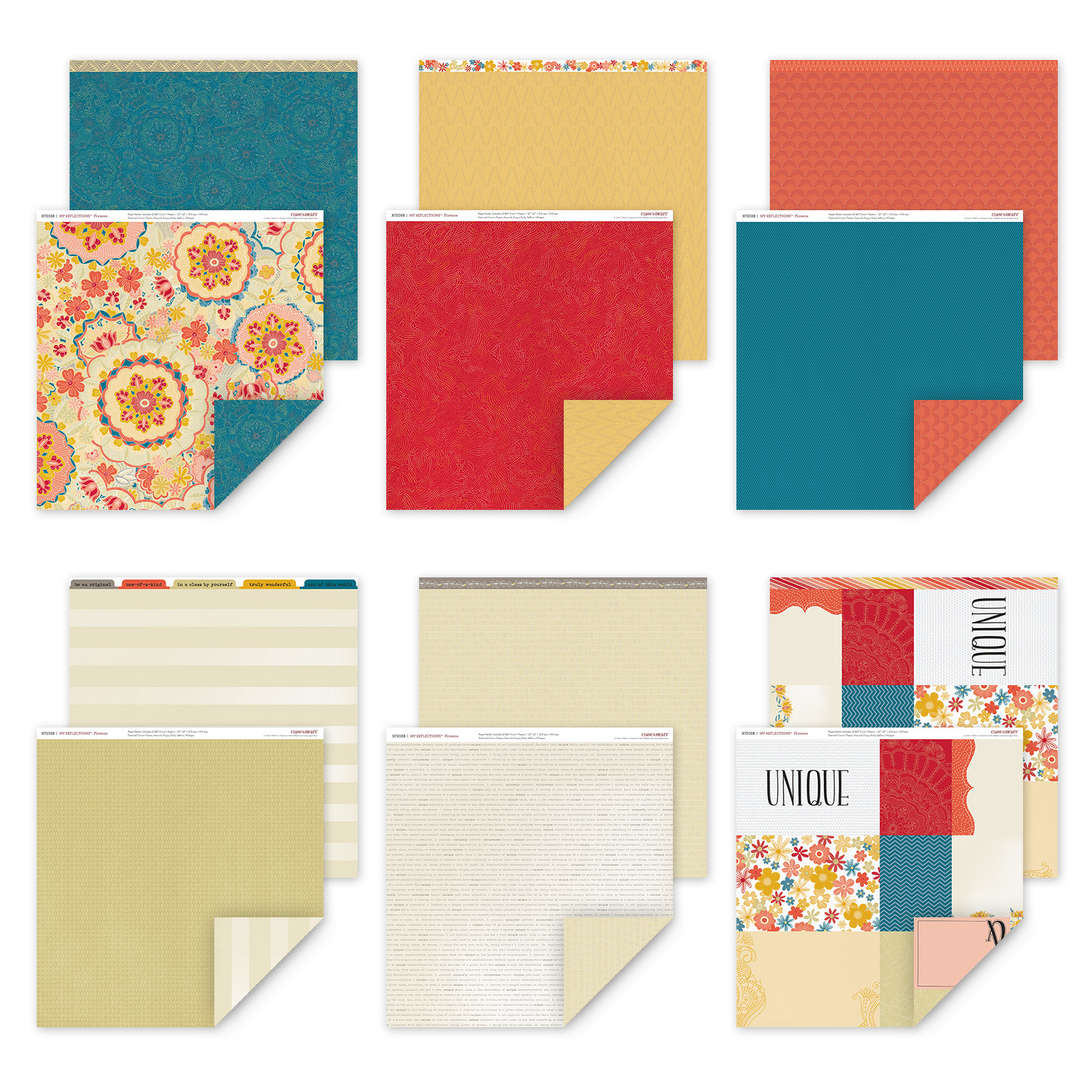 Florence Paper Packet