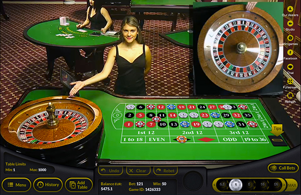 Live Roulette at Cloudbet