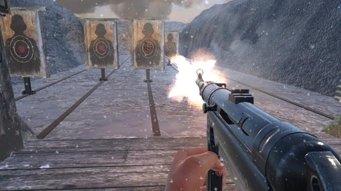 World War 2 Winter Gun Range VR screenshot 1