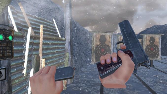 World War 2 Winter Gun Range VR screenshot 3