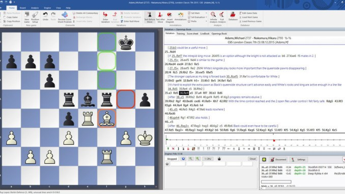 Fritz Chess 17 Steam Edition Screenshot 1