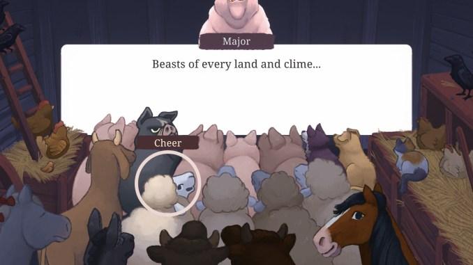 Orwell's Animal Farm screenshot 1