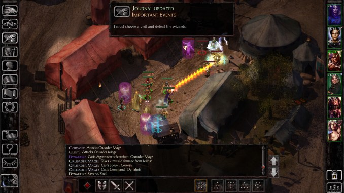 Baldurs Gate: Siege of Dragonspear screenshot 1
