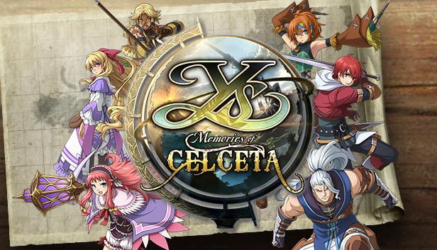 Ys: Memories of Celceta op Steam