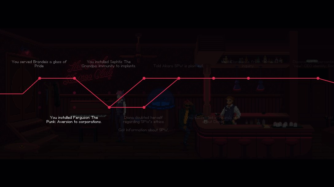 The Red Strings Club  PREVIEW