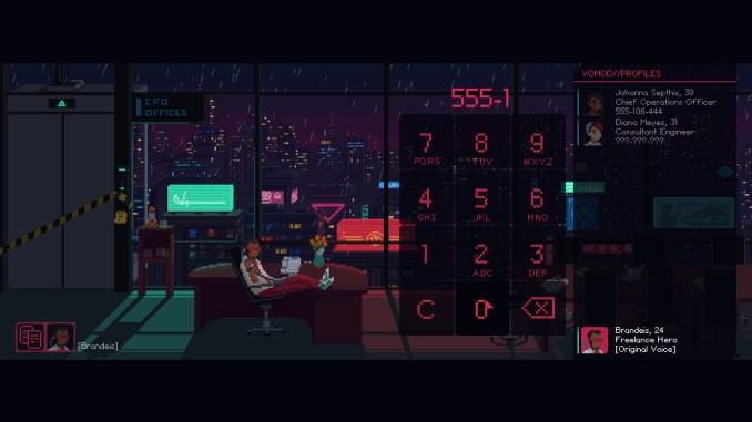The Red Strings Club screenshot 3