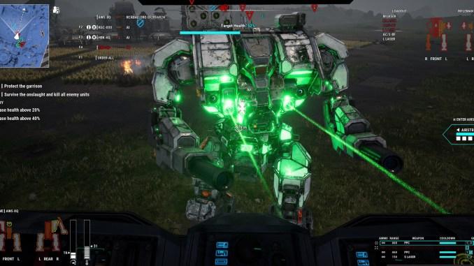 MechWarrior 5: Mercenaries screenshot 1
