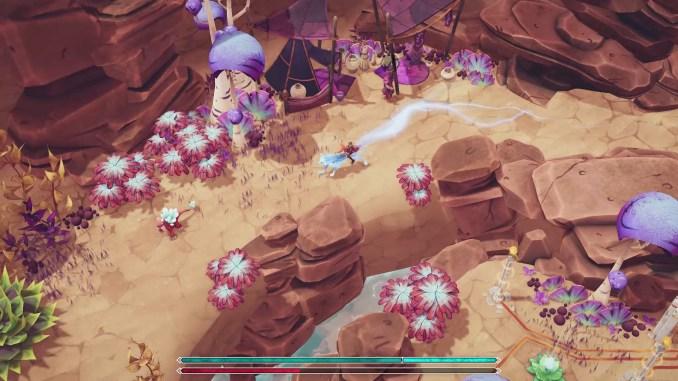 Nanotale - Typing Chronicles screenshot 2