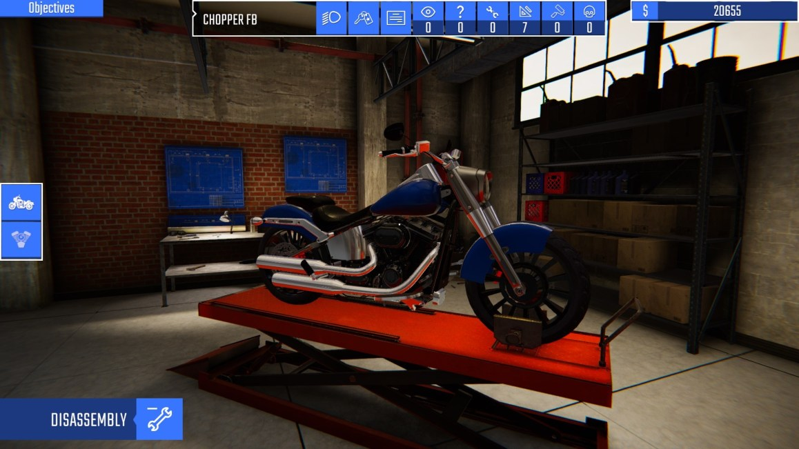 Biker Garage: Mechanic Simulator  PREVIEW