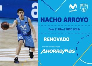 Nacho Arroyo renueva con Movistar Estudiantes hasta 2023