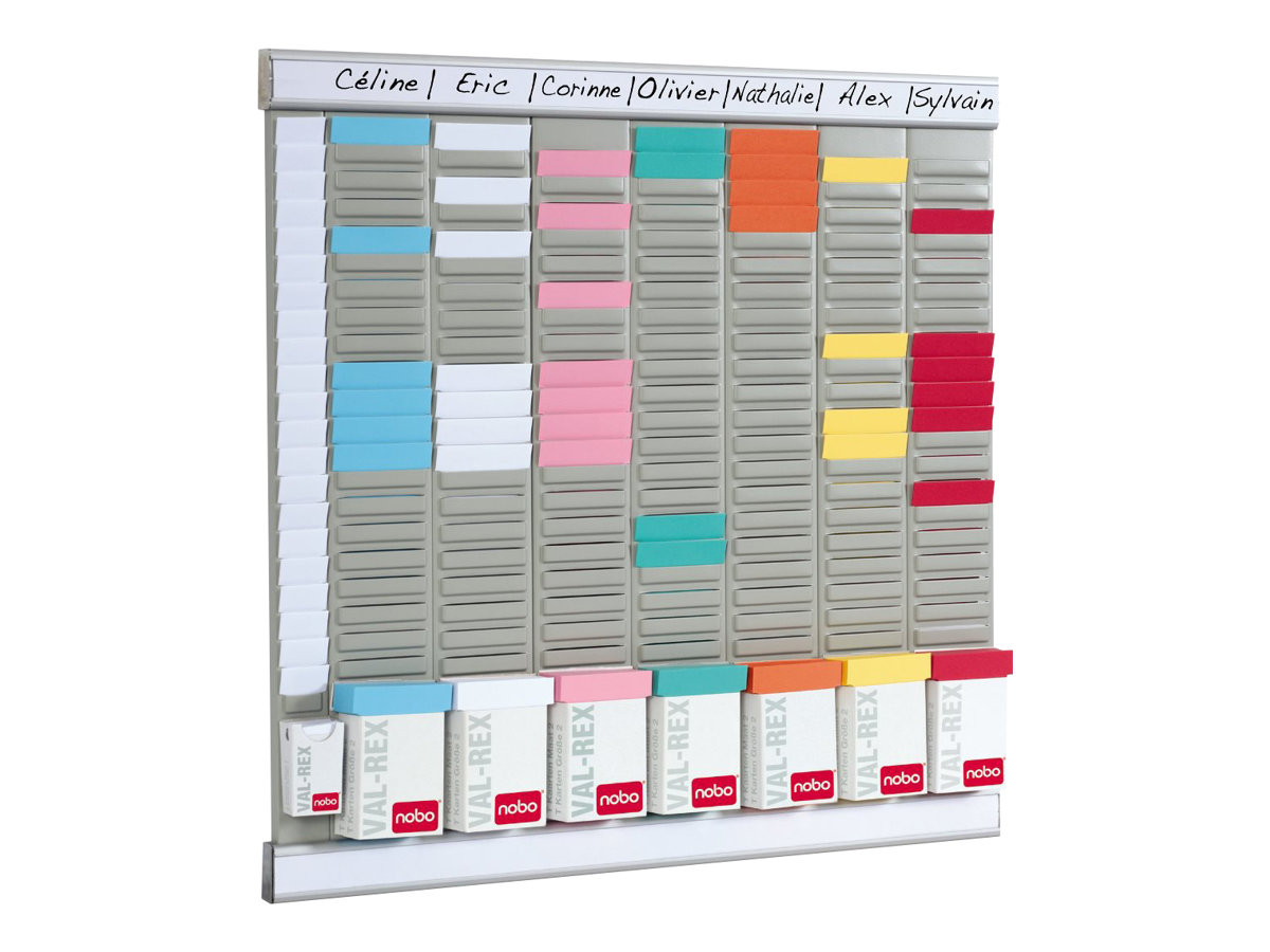 Nobo Planning Fiches En T Hebdomadaire 480 X 480