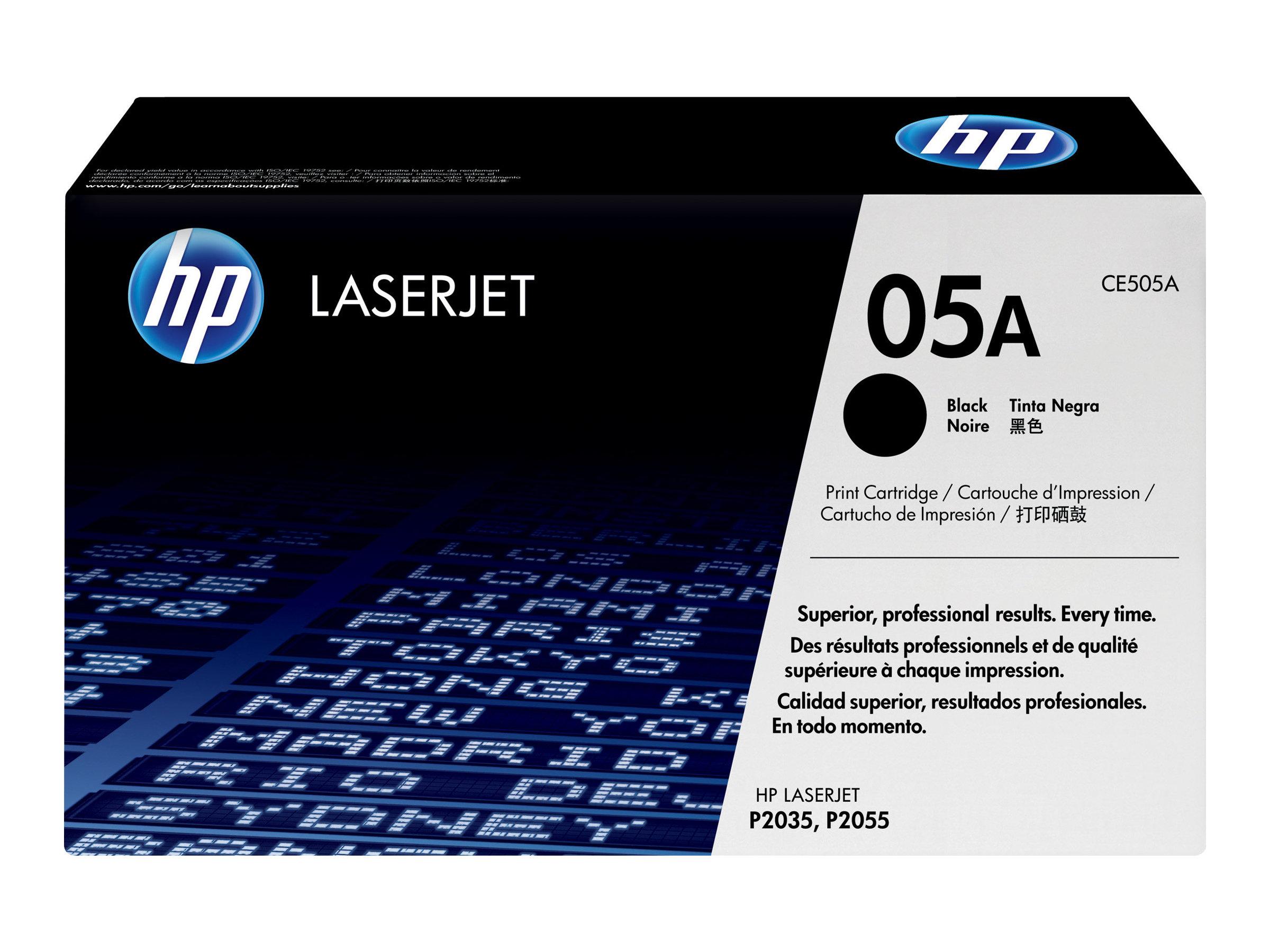 Hp 05a Noir Toner D Origine Cartouche Laser