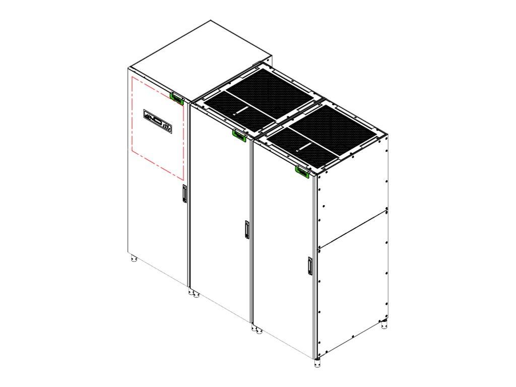 Apc G3ht80khb4s Mge Galaxy 300 80kva 400v 3 3 With 30min Battery E