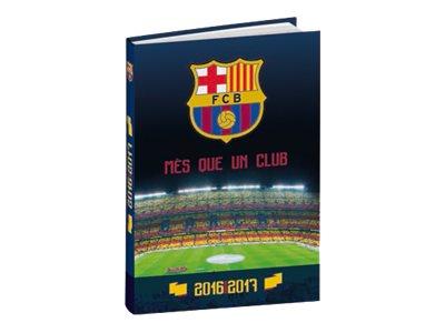 Quo Vadis FC Barcelone Textagenda 2017 12 X 70 Cm