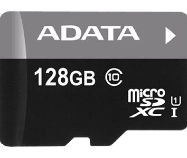 Adata Premier Flash Memory Card 128 Gb Microsdxc Uhs I Ausdx128guicl10a1 Ra1 Howardcomputers Com