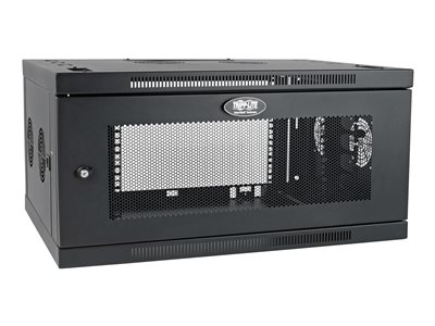 tripp lite smartrack 6u low profile switch depth plus wall mount rack enclosure cabinet wide rack enclosure cabinet 6u