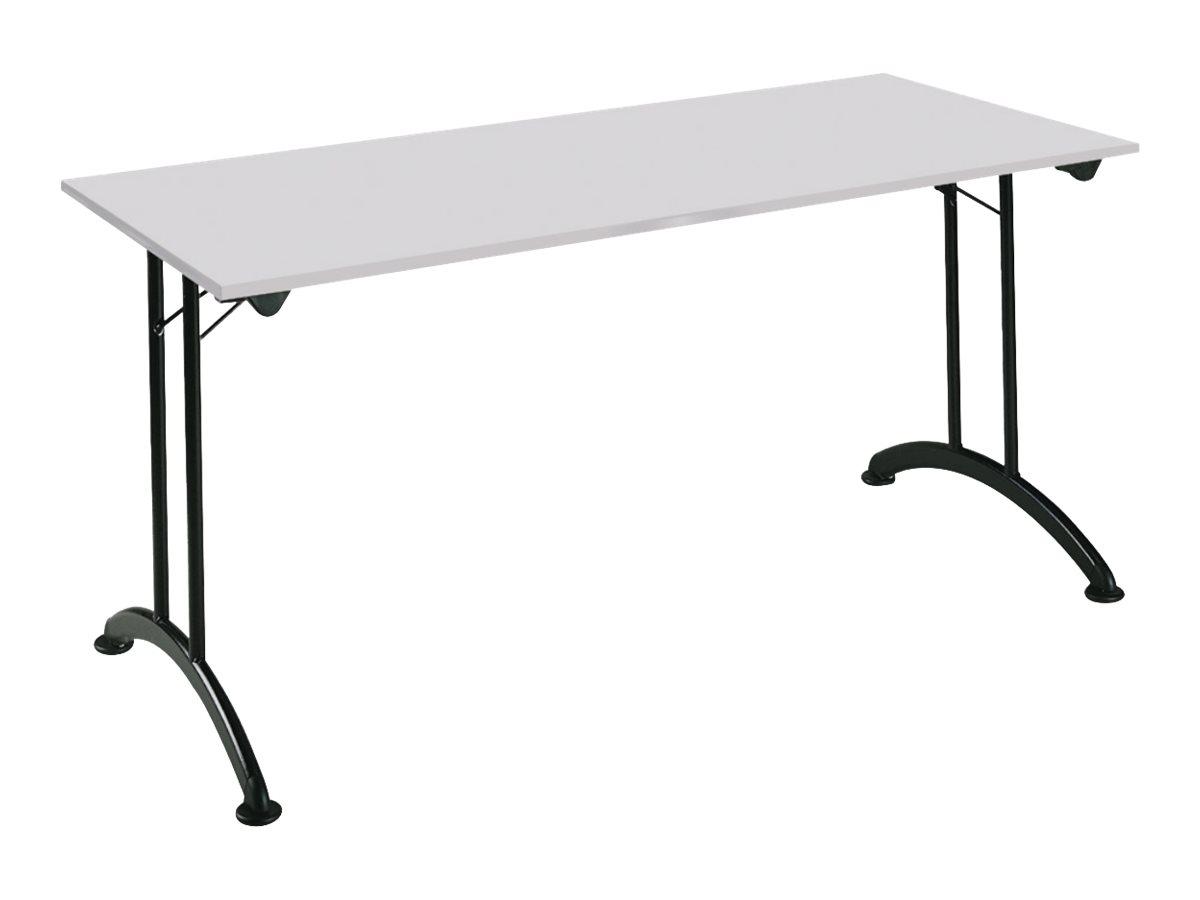 mt table de reunion rectangulaire pliante l160 x h74 x l70 cm