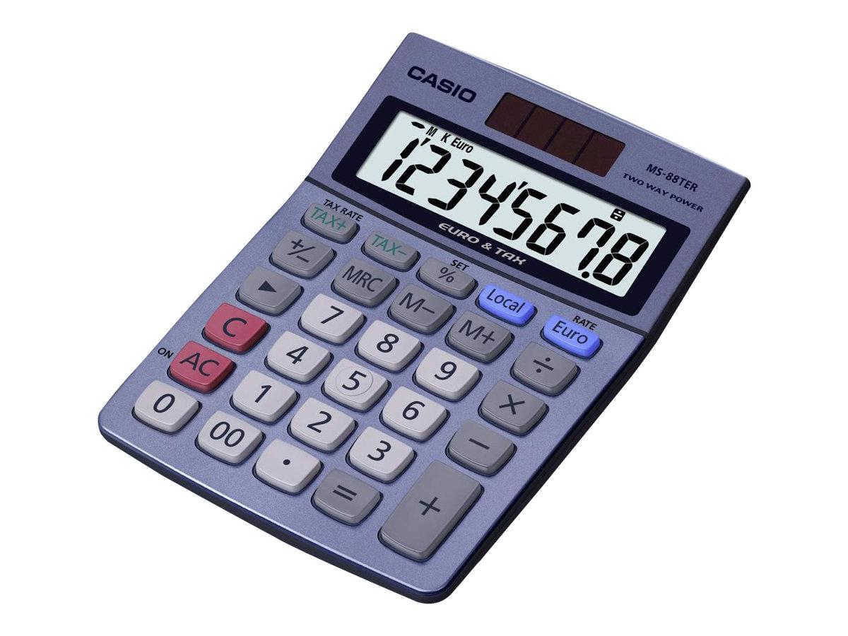 casio ms 88ter calculatrice de bureau