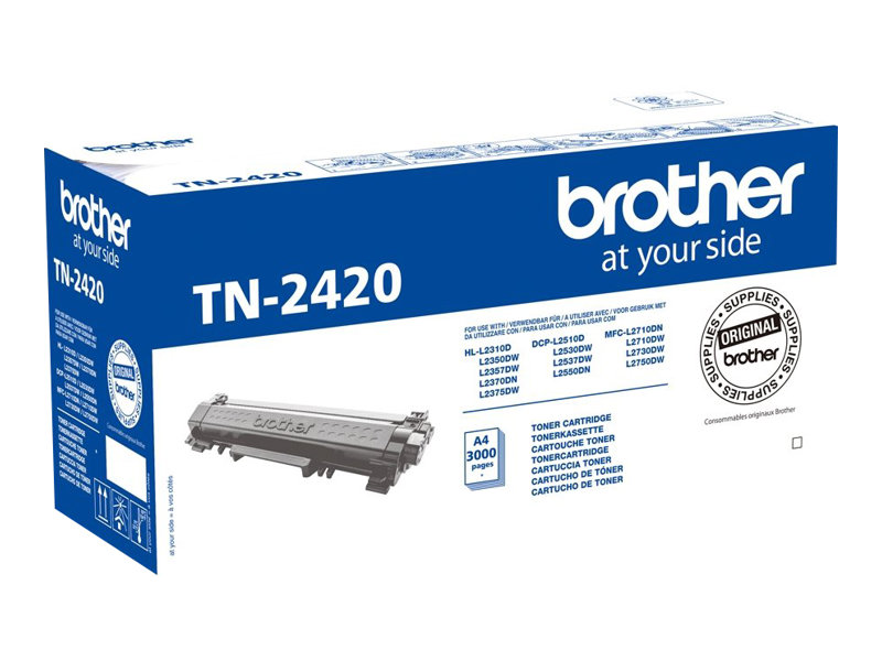 Brother TN2420 Rendement Lev Noir Originale