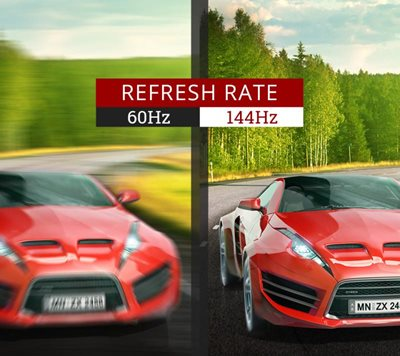 144Hz refresh rate