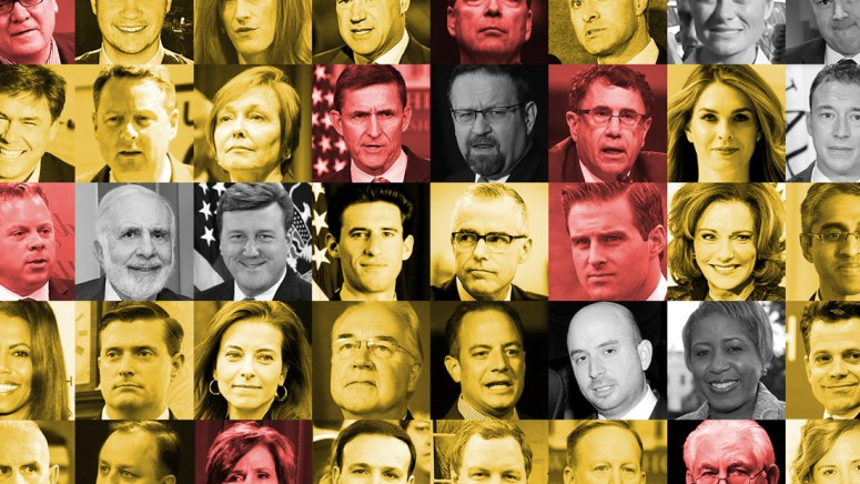Trump Administration Departures interactive