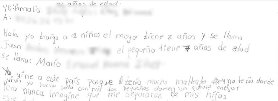 Letter snippet